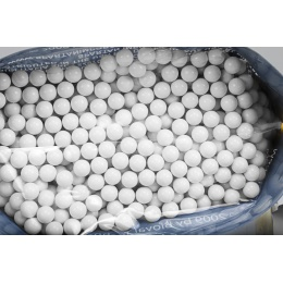 Bioval Airsoft 0.25g Bio Neutral Airsoft BB's - 4000rd Bag - WHITE