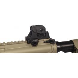 Lancer Tactical Polymer MK18 CQBR LT-02T M4 Airsoft AEG Rifle - TAN