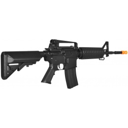 Lancer Tactical M4A1 LT-03B Carbine Airsoft Gun AEG Rifle - BLACK