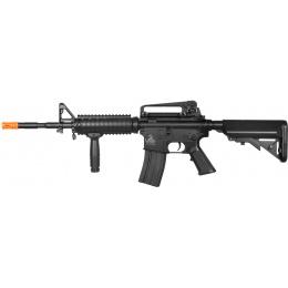 Lancer Tactical Polymer M4 RIS LT-04B Airsoft Gun AEG Rifle - BLACK