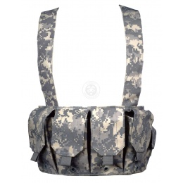 AMA 600D Rugged 6x Magazine Pouch Tactical Chest Rig - ACU