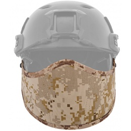 Lancer Tactical CA-801A FAST Helmet Armor Airsoft Face