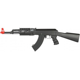 Lancer Tactical LT-16A AK47 AEG w/ Railed Handguard and Full Stock