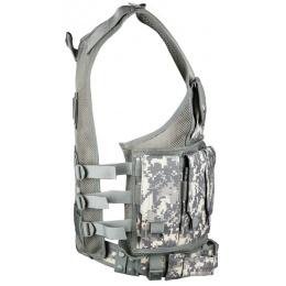 AMA Airsoft V2 Cross-Draw Military Vest w/ Tactical Belt - ACU