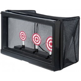 Well Fire Airsoft 3 Round Shooting Target Trainer w/ NET - BLACK