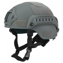 Lancer Tactical MICH 2000 SF Type Tactical Helmet - GREEN