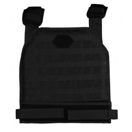 AMA Airsoft MOLLE Modular Plate Carrier - BLACK