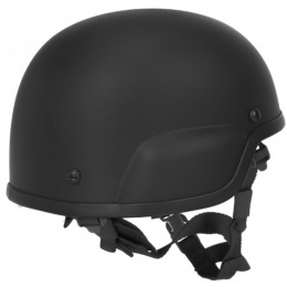 Lancer Tactical MICH 2000 ACH Tactical Helmet - BLACK