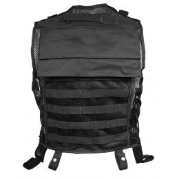 AMA 600D Construction MOLLE Vest - BLACK