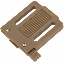 UK Arms Airsoft NVG Mount Adapter for Modular Helmets - TAN
