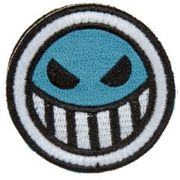 UK Arms Airsoft Hook and Loop Base ACE Patch - BLUE/WHITE