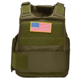AMA 600D M-Armor Tactical Airsoft Vest - OD GREEN