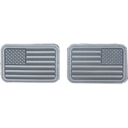 AMA Airsoft U.S. Flag Forward/Reverse Patch Set - ACU