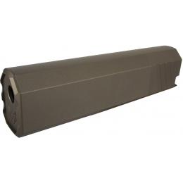 SilencerCo Airsoft Osprey Mock Suppressor 45-K 14mm CCW - DARK EARTH