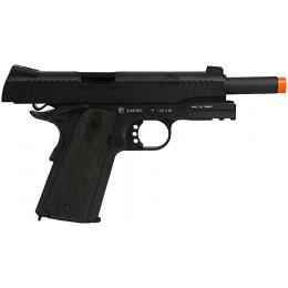 Colt Airsoft CO2 GBB 1911 Pistol w/ Rail Full Metal - BLACK