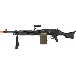 Lancer Tactical Airsoft M240 Automatic General Purpose Machine Gun