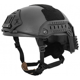 Lancer Tactical Maritime Tactical Helmet Simple - BLACK