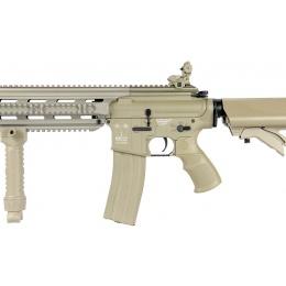 ICS Airsoft CXP-16 PROLINE Tactical AEG w/ QD Suppressor - TAN