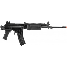 ICS Airsoft Galil ICAR GR AEG w/ Top Rail, Foldable Stock - BLACK