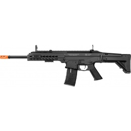 ICS Airsoft CXP APE Full Metal KeyMod Handguard Long Barrel Type-BLACK