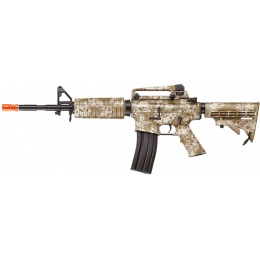 ICS Airsoft M4A1 AEG Assault Carbine Rifle - DESERT DIGITAL