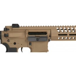 Lancer Tactical Airsoft M4 Multi-Mission AEG w/ Recoil System - TAN