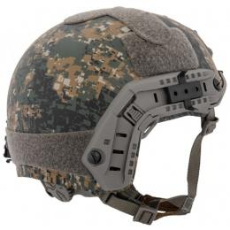 Lancer Tactical Ballistic MH Type Tactical Helmet - DIGITAL WOODLAND