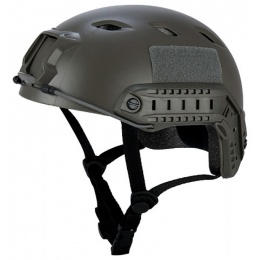 Lancer Tactical BJ Type Tactical Helmet Medium - OD GREEN