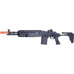JG Airsoft M14 EBR AEG Full Metal w/ Adjustable Stock - BLACK