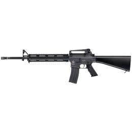 ICS Airsoft M16A3 RAS Full Metal AEG w/ Fixed Stock - BLACK