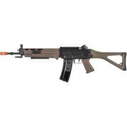 ICS Airsoft SIG 551 AEG Full Metal Long Barrel Rifle - DARK EARTH