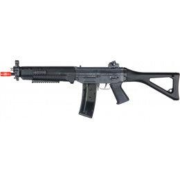 ICS Airsoft SIG 551 SWAT AEG RIS Folding Stock - BLACK