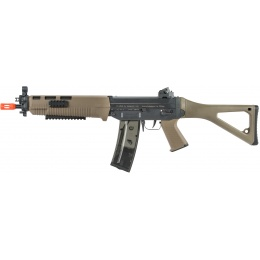 ICS Airsoft SIG 551 SWAT AEG RIS Folding Stock - DARK EARTH