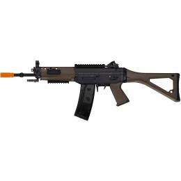 ICS Airsoft SIG 551 AEG Full Metal Commando Type Rifle - DARK EARTH