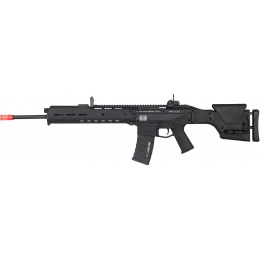 A&K Airsoft Masada DMR Polymer AEG w/ Integrated Cheek Riser - BLACK