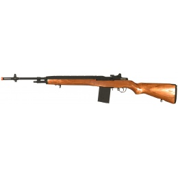 CYMA Airsoft M14 Fully Automatic AEG Rifle w/ Real Laminate Wood Stock