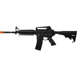 ICS Airsoft M4A1 AEG Full Metal w/ Electric Blowback - BLACK