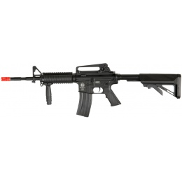 ICS Airsoft M4 AEG w/ RIS Crane Stock SOPMOD Version - BLACK