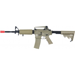 ICS Airsoft M4A1 AEG Assault Carbine Rifle - TAN
