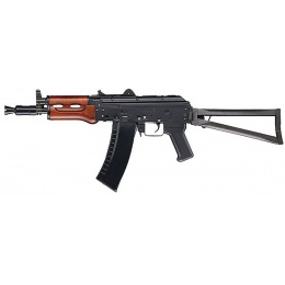 ICS Airsoft AK74U AEG Full Metal w/ Real Wood Handguard Assault Rifle