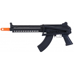 JG Airsoft AS 74U AEG Electronic Blowback Foldable Stock - BLACK