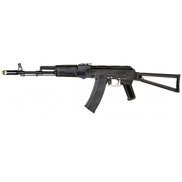DBOYS Airsoft AKS 74 AEG Full Metal w/ Side Folding Stock - BLACK