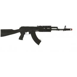CYMA Airsoft AK Series CM048A AEG Full Metal Tactical RIS - BLACK