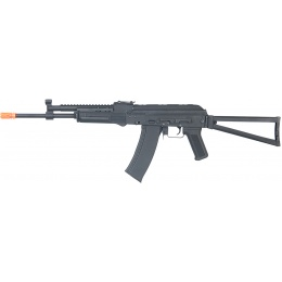 CYMA Airsoft AK74 AEG Full Metal w/ Gas Block Rail and Folding Stock
