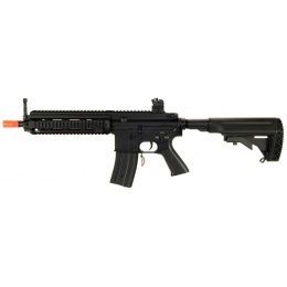 AGM Airsoft 614 AEG Rifle w/ Crane Stock - BLACK