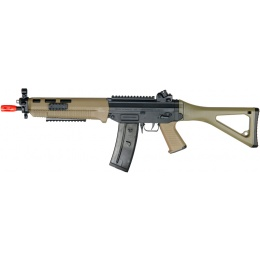 ICS Airsoft SIG 551 SWAT Sportline ABS Plastic Edition - DARK EARTH