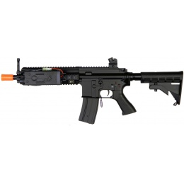 Golden Eagle Airsoft 614 AEG MK416 ABS Plastic Edition w/ PEQ BOX