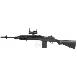 400 FPS AGM Airsoft M14 RIS Spring Sniper Rifle w/ Red Dot