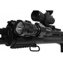 AGM M14 SOCOM RIS Airsoft Sniper Rifle w/ Flashlight and Scope