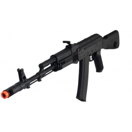 Lancer Tactical LT-731D AKS 74U AK-104 AEG Full Metal w/ Fixed Stock